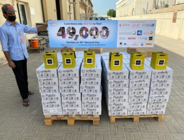 Patchi distributing 720 kg of delicious chocolate