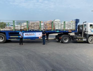Apparel Group share 13.6 tons of Essential Food Materials